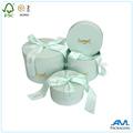Decorativos de alta qualidade rígido forma oval caixa de chocolate papel/frutas caixa de armazenamento
