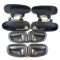 New Door Handle Black Outside Black Inside Kit Set of 8 For Toyota Corolla Prizm AM-1020260085,69205-12130,6920512130