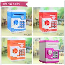 plastic money bank,atm bank money saving boxes toy