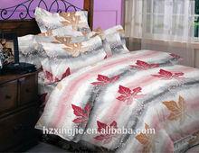 High quality manufacturer cheap polyester microfiber bedding set