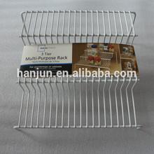 Especias organizador / blanco 3 Tier cocina Spice Rack organizador