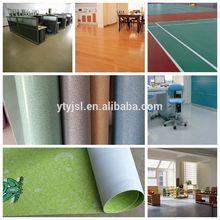 durable sponge wooden grain commercial vinyl pvc flooring roll