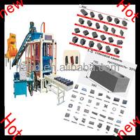 factory sell QT 4-25 small clay brick machine /brick machine fired clay brick making machine