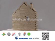 Zero formaldehyde release new material for interior decoration