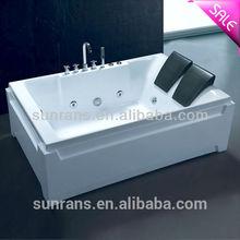 Corian freestanding solid surface enameled steel bathtub
