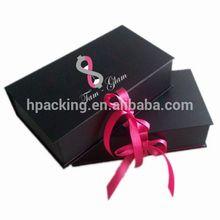 top quality wedding dress folding packaging box