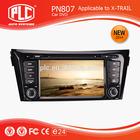 Top quality PLC multimedia car dvd player with am fm radio