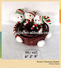 Handmade Festival Gift wicker basket Christmas gifts
