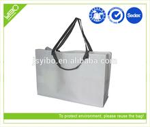 ECO reusable recycled customized non woven bag design big shopping bag