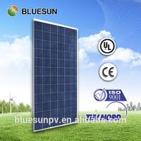 TUV/UL/CE high quality 25years warranty specialized supply polycrystalline 300w price per watt solar panels