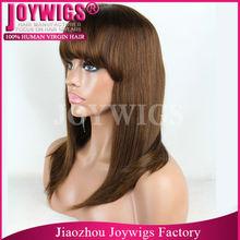 "Wholesale china alibaba 18"" popular virgin lace front wig"