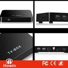 android 4.2 smart tv box webcam with skype air play tv box