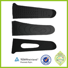 Blcack double side adhesive nylon molded hook and loop velcro tape