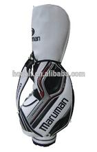 Maruman golf caddy golf, customized best PU golf bag ever