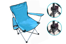 Outdoor beach foldable camping chair for relaxing