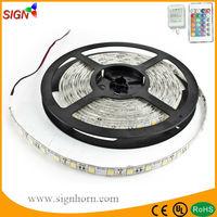 Discounted 10% 12V 300 leds PI65 5m RGB/single color flexible 5056 smd led strip
