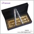 Perfect competencia de metal art pen set barato bolígrafo partes pluma pluma