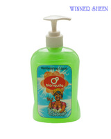 Liquid hand soap with bottle packing