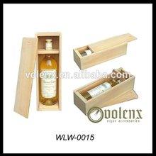 Pine Wood Log Vintage Wood New Product Luxury Wine Box