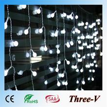 3 Piece Candy Stripe Xmas Present LED Christmas light decoration