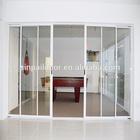 Cheap readymade aluminium standard bathroom window size sliding closet doors