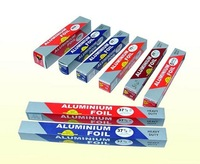 Healthy and convenient aluminum foil roll for food with oem color box