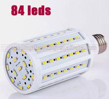 led corn bulb for photography 18w/20w/23w with CE ROHS UL Approval / E27 E26 B22 E40 84pcs smd 5730/5630