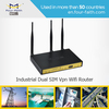 3g multiple sim router Load balance router Quad band router with external antenna & 4 LAN port