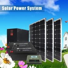 solar system for Tv , refrigerator ,air-condition , computer
