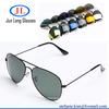 Aviator rayban-sunglasses high quality pilot sun glasses metal aviador oculos OEM customized logo Sunglass polarized goggles