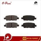 O-pure/H4H brake pads/auto brake pad/car brake pad/auto spare parts for Nissan Sentra PGD462C/BCD485/PGD462C