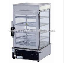 Pfgm. 600l perforni comercial elétrica pão/navio alimentos vitrine para pão congelado de aquecimento