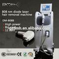 الدرجة الأولى dm-808b 2014 الجمال آلة ليزر ديود آلة إزالة الشعر بسرعة التكلفة/ سريع لإزالة الشعر ليزر ديود