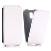Phone Case Carbon Fiber Pattern Vertical Flip Leather Case for Samsung Galaxy S5 Mini