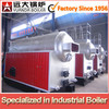 DZL Series 1.25mpa 4t automatic chain grate stoker fire tube coal fired steam boiler for sale
