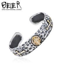 Beier biblia 925 brazaletes de plata joyería venta al por mayor de europen y americano brazalete popular de plata BR925SZ033