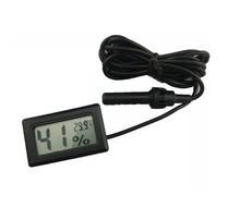nero y humedad termometro digitale