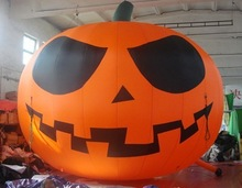 2014 new led lighting inflatable halloween pumpkin