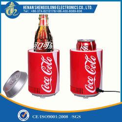 USB mini fridge coca cola table top mini drink cooler