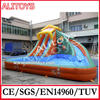 Ali big inflatable slides,cheap inflatable water slides for sale