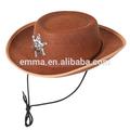 ragazzi ragazze bambini cowboy cowgirl costume Wild West vice sceriffo Woody ht027 cappello