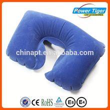 2014 fashion inflatabe neck pillow u-shape travel pillow