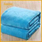 hot sale fleece extra soft custom design knit chunky blanket