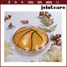 Basketball shape magic reusable heat packs