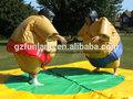 Sports interactive- juguetes fuerte héroe trajes de sumo juego de lucha libre.