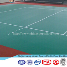 commercial pvc roll flooring for volleyball