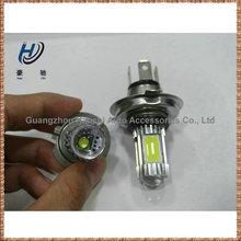 h7 h4 cob high lumen super white 12 volt car led headlight h4