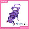 OEM purple pretend play & preschool baby toys twin doll stroller