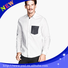 Men Gender shirt slim fit with a pocket