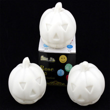 2014 Brand New Colors Changing Pumpkin LED Night Light Decoration Candle Lamp Nightlight,great gift for kids